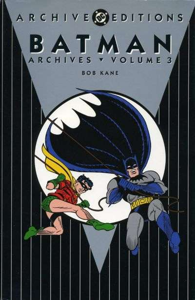 Batman Archives - Hardcover #3 Comic Books - Covers, Scans, Photos  in Batman Archives - Hardcover Comic Books - Covers, Scans, Gallery