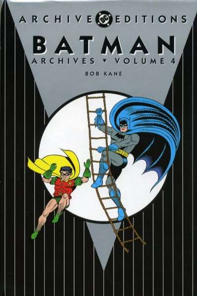 Batman Archives - Hardcover #4 Comic Books - Covers, Scans, Photos  in Batman Archives - Hardcover Comic Books - Covers, Scans, Gallery