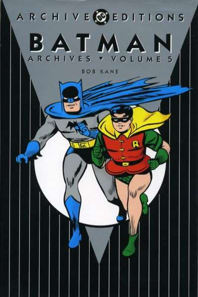 Batman Archives - Hardcover #5 Comic Books - Covers, Scans, Photos  in Batman Archives - Hardcover Comic Books - Covers, Scans, Gallery