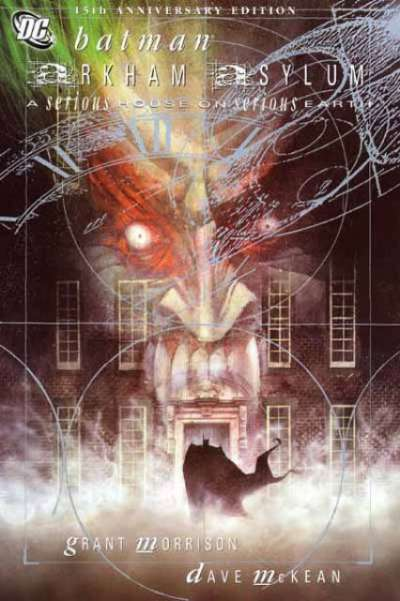 Batman: Arkham Asylum - Hardcover #1 comic books - cover scans photos Batman: Arkham Asylum - Hardcover #1 comic books - covers, picture gallery