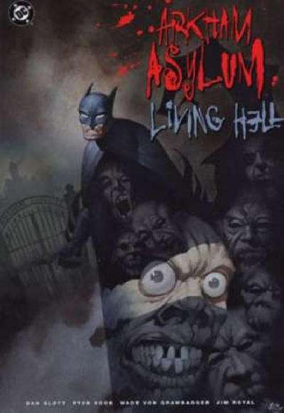 Batman: Arkham Asylum: Living Hell comic books