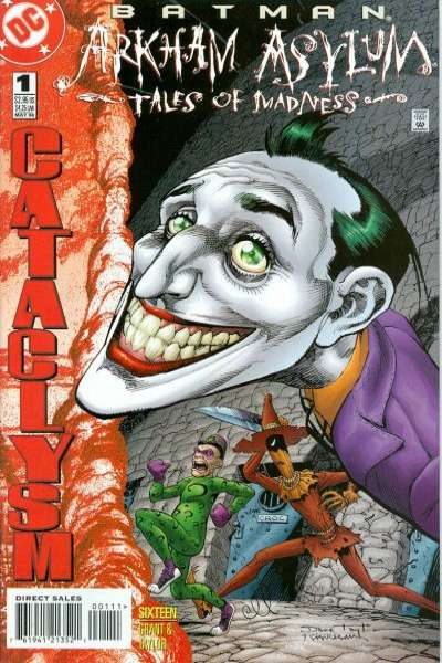 Batman: Arkham Asylum: Tales of Madness comic books