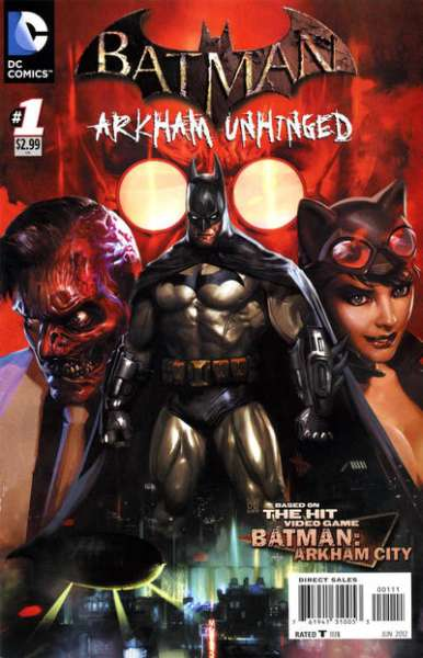 Batman: Arkham Unhinged #1 Comic Books - Covers, Scans, Photos  in Batman: Arkham Unhinged Comic Books - Covers, Scans, Gallery