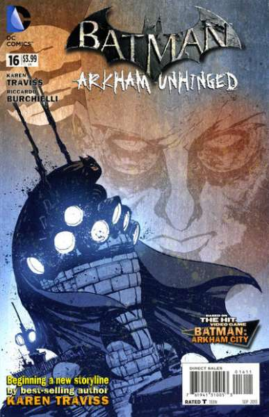Batman: Arkham Unhinged #16 comic books - cover scans photos Batman: Arkham Unhinged #16 comic books - covers, picture gallery