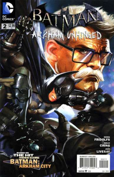 Batman: Arkham Unhinged #2 Comic Books - Covers, Scans, Photos  in Batman: Arkham Unhinged Comic Books - Covers, Scans, Gallery