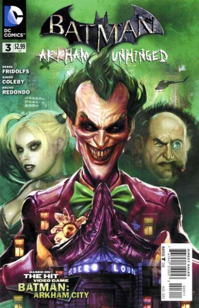 Batman: Arkham Unhinged #3 comic books for sale