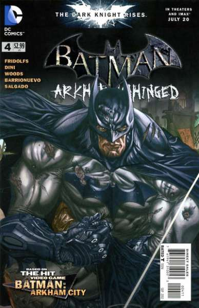 Batman: Arkham Unhinged #4 comic books - cover scans photos Batman: Arkham Unhinged #4 comic books - covers, picture gallery
