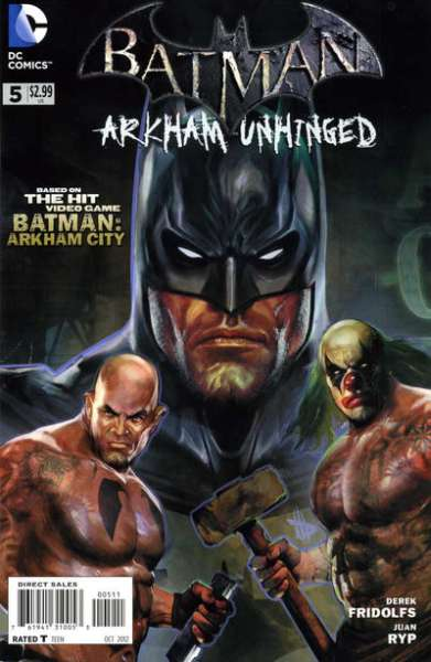 Batman: Arkham Unhinged #5 Comic Books - Covers, Scans, Photos  in Batman: Arkham Unhinged Comic Books - Covers, Scans, Gallery