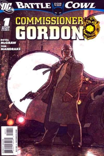 Batman: Battle for the Cowl Commissioner Gordon #1 comic books for sale