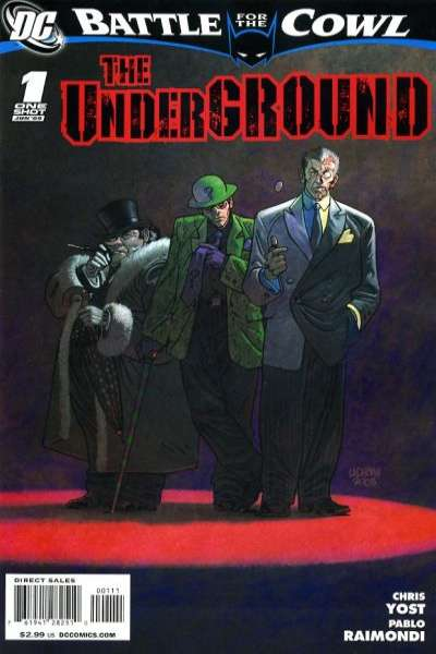Batman: Battle for the Cowl: The Underground #1 comic books - cover scans photos Batman: Battle for the Cowl: The Underground #1 comic books - covers, picture gallery