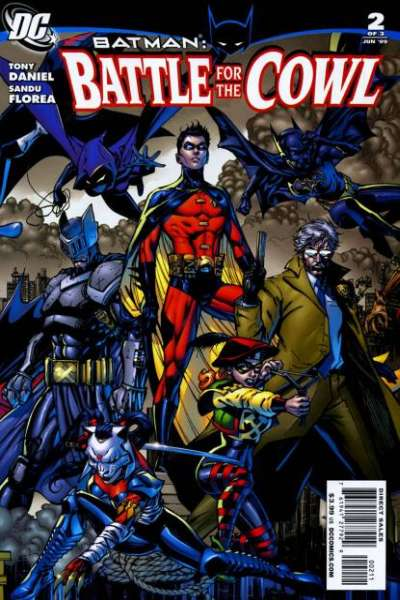 Batman: Battle for the Cowl #2 Comic Books - Covers, Scans, Photos  in Batman: Battle for the Cowl Comic Books - Covers, Scans, Gallery