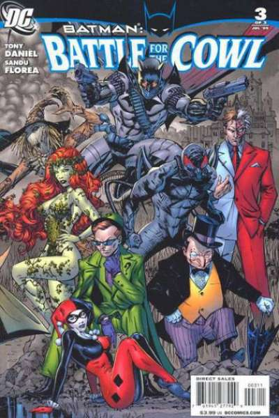 Batman: Battle for the Cowl #3 comic books for sale