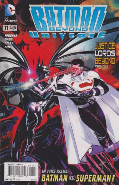 Batman Beyond Universe #11 comic books for sale