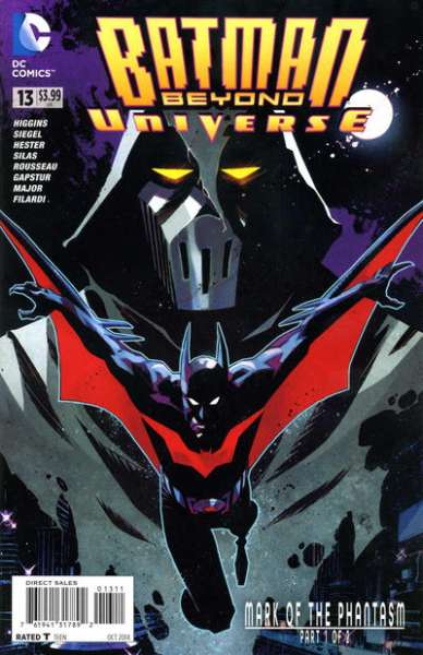 Batman Beyond Universe #13 Comic Books - Covers, Scans, Photos  in Batman Beyond Universe Comic Books - Covers, Scans, Gallery