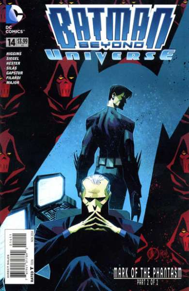 Batman Beyond Universe #14 Comic Books - Covers, Scans, Photos  in Batman Beyond Universe Comic Books - Covers, Scans, Gallery