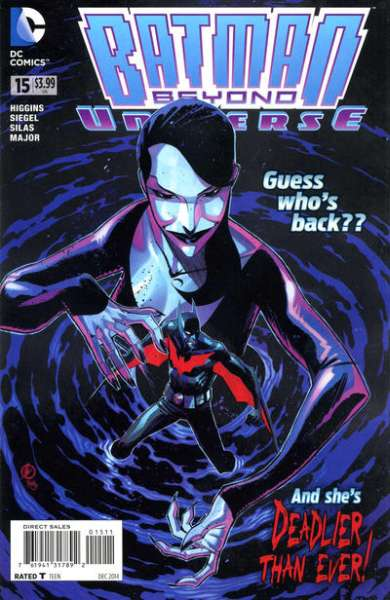 Batman Beyond Universe #15 Comic Books - Covers, Scans, Photos  in Batman Beyond Universe Comic Books - Covers, Scans, Gallery