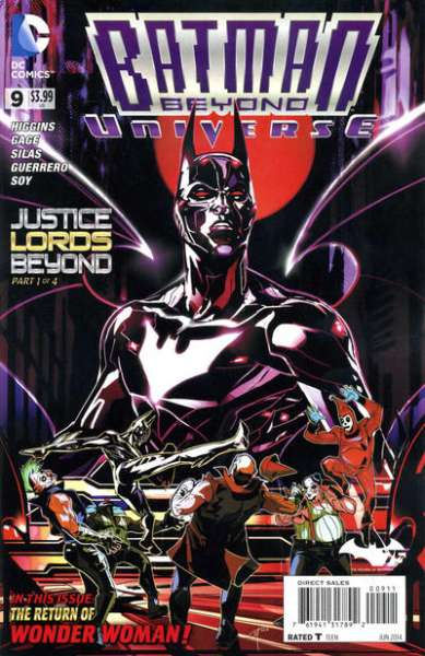 Batman Beyond Universe #9 Comic Books - Covers, Scans, Photos  in Batman Beyond Universe Comic Books - Covers, Scans, Gallery