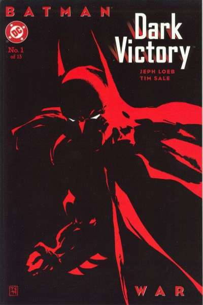 Batman: Dark Victory #1 Comic Books - Covers, Scans, Photos  in Batman: Dark Victory Comic Books - Covers, Scans, Gallery