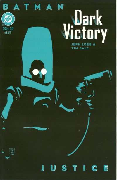 Batman: Dark Victory #10 comic books - cover scans photos Batman: Dark Victory #10 comic books - covers, picture gallery