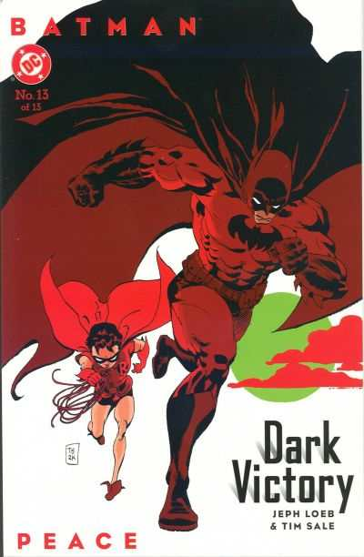 Batman: Dark Victory #13 comic books - cover scans photos Batman: Dark Victory #13 comic books - covers, picture gallery