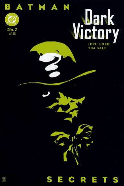 Batman: Dark Victory #2 comic books - cover scans photos Batman: Dark Victory #2 comic books - covers, picture gallery