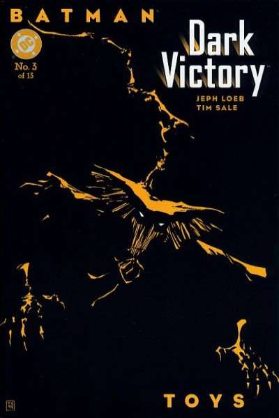 Batman: Dark Victory #3 comic books - cover scans photos Batman: Dark Victory #3 comic books - covers, picture gallery