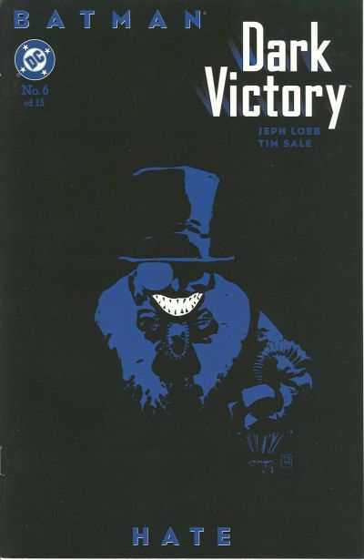 Batman: Dark Victory #6 comic books - cover scans photos Batman: Dark Victory #6 comic books - covers, picture gallery