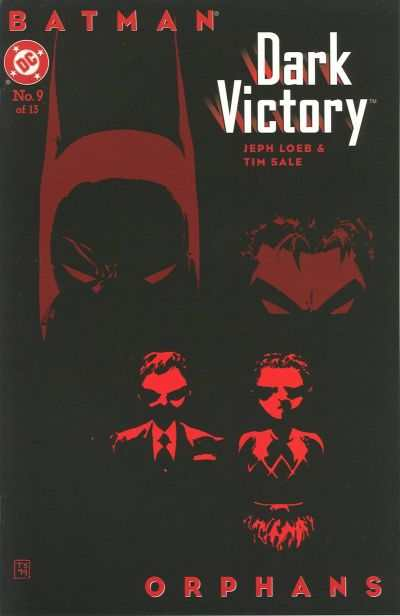 Batman: Dark Victory #9 comic books - cover scans photos Batman: Dark Victory #9 comic books - covers, picture gallery