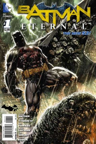 Batman Eternal comic books