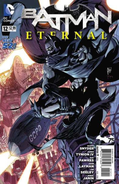 Batman Eternal #12 Comic Books - Covers, Scans, Photos  in Batman Eternal Comic Books - Covers, Scans, Gallery