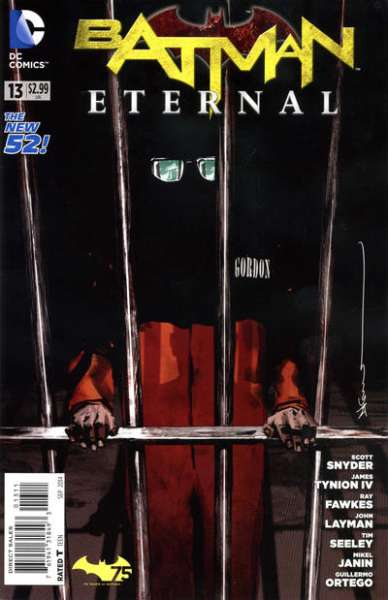 Batman Eternal #13 comic books for sale