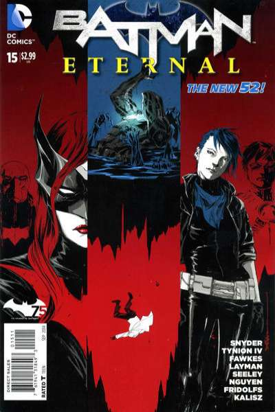 Batman Eternal #15 Comic Books - Covers, Scans, Photos  in Batman Eternal Comic Books - Covers, Scans, Gallery