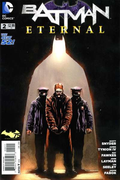 Batman Eternal #2 Comic Books - Covers, Scans, Photos  in Batman Eternal Comic Books - Covers, Scans, Gallery