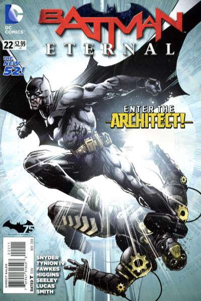 Batman Eternal #22 Comic Books - Covers, Scans, Photos  in Batman Eternal Comic Books - Covers, Scans, Gallery