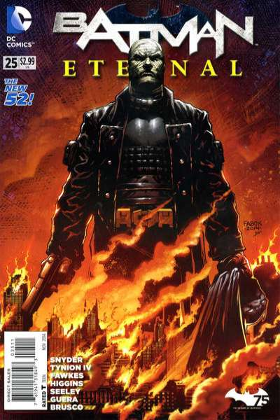 Batman Eternal #25 comic books for sale