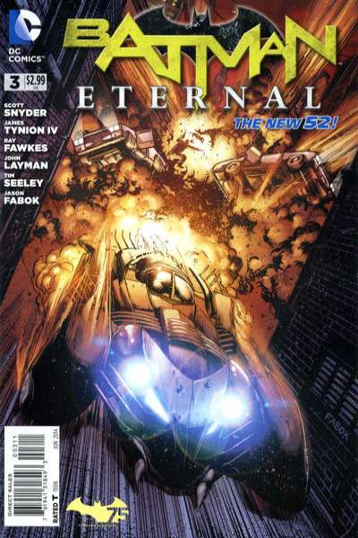 Batman Eternal #3 Comic Books - Covers, Scans, Photos  in Batman Eternal Comic Books - Covers, Scans, Gallery