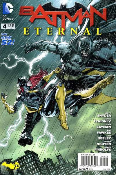 Batman Eternal #4 comic books for sale