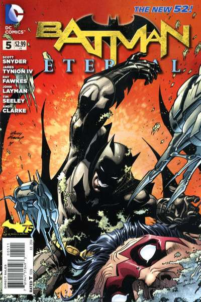 Batman Eternal #5 Comic Books - Covers, Scans, Photos  in Batman Eternal Comic Books - Covers, Scans, Gallery