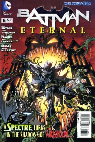 Batman Eternal #6 Comic Books - Covers, Scans, Photos  in Batman Eternal Comic Books - Covers, Scans, Gallery