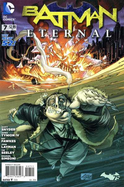 Batman Eternal #7 Comic Books - Covers, Scans, Photos  in Batman Eternal Comic Books - Covers, Scans, Gallery
