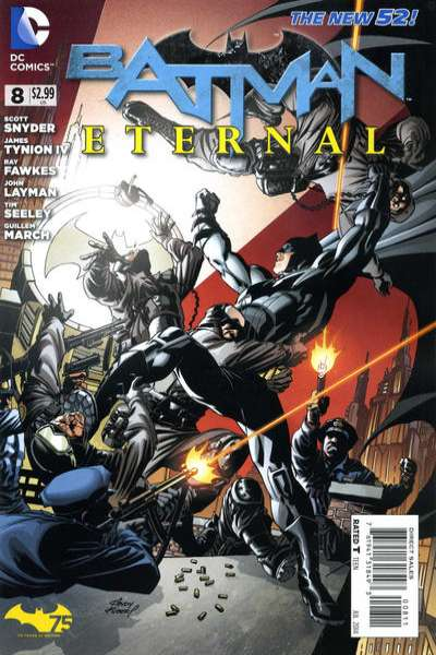 Batman Eternal #8 comic books - cover scans photos Batman Eternal #8 comic books - covers, picture gallery