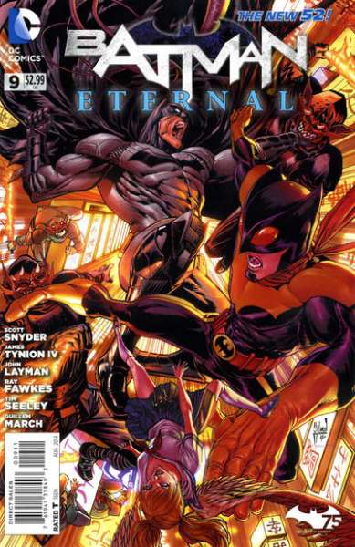 Batman Eternal #9 comic books - cover scans photos Batman Eternal #9 comic books - covers, picture gallery