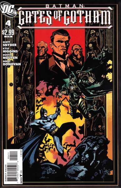 Batman: Gates of Gotham #4 comic books for sale