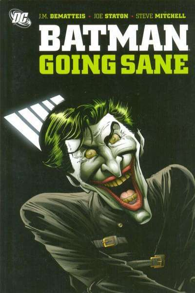 Batman: Going Sane #1 Comic Books - Covers, Scans, Photos  in Batman: Going Sane Comic Books - Covers, Scans, Gallery