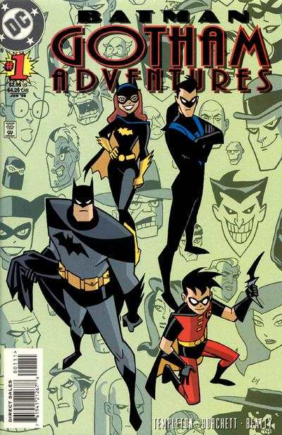 Batman: Gotham Adventures #1 comic books - cover scans photos Batman: Gotham Adventures #1 comic books - covers, picture gallery