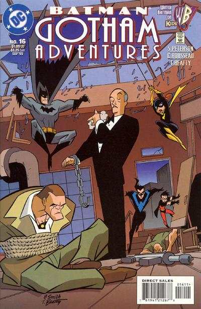Batman: Gotham Adventures #16 comic books - cover scans photos Batman: Gotham Adventures #16 comic books - covers, picture gallery