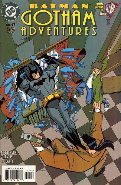 Batman: Gotham Adventures #17 comic books - cover scans photos Batman: Gotham Adventures #17 comic books - covers, picture gallery