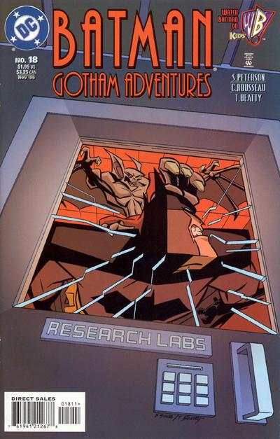 Batman: Gotham Adventures #18 comic books - cover scans photos Batman: Gotham Adventures #18 comic books - covers, picture gallery
