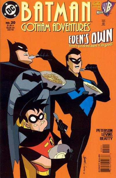Batman: Gotham Adventures #20 comic books for sale