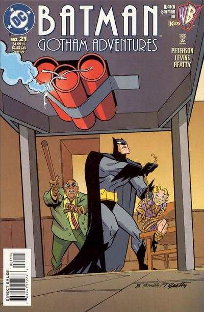 Batman: Gotham Adventures #21 comic books - cover scans photos Batman: Gotham Adventures #21 comic books - covers, picture gallery